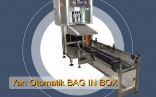 Yarı Otomatik Bag İn Box Dolum Makinası